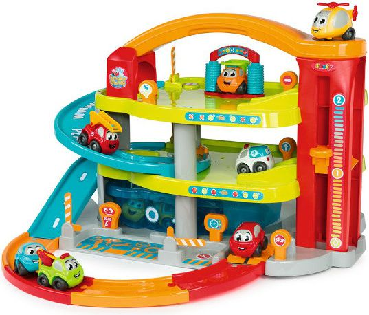 Smoby Vroom Planet Large Garage - (7600120401)