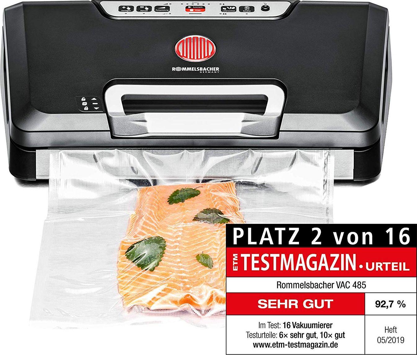 Rommelsbacher VAC vacuum sealer 485(black / silver)