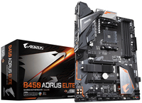 Gigabyte B450 AORUS ELITE    (B450,AM4,ATX,DDR4,VGA,AMD) pamatplate, mātesplate