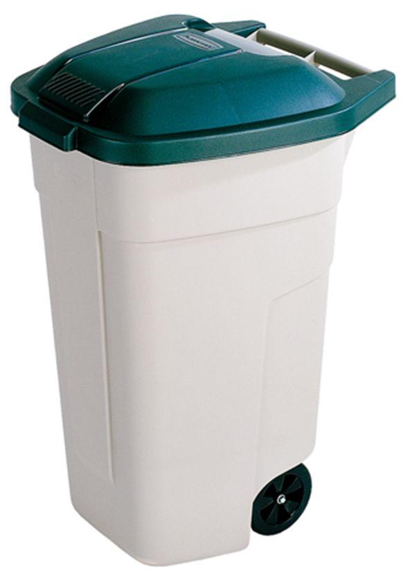 Curver Atkritumu tvertne uz riteniem 110L besa/zala 0812900158 atkritumu tvertne