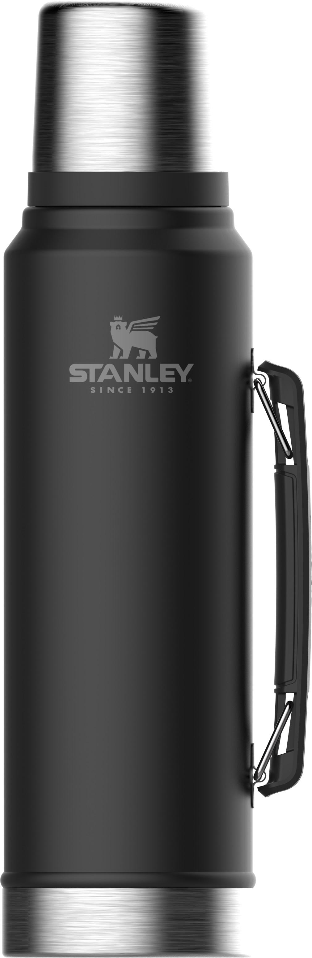 Stanley Termoss Classic 1L mateti melns termoss
