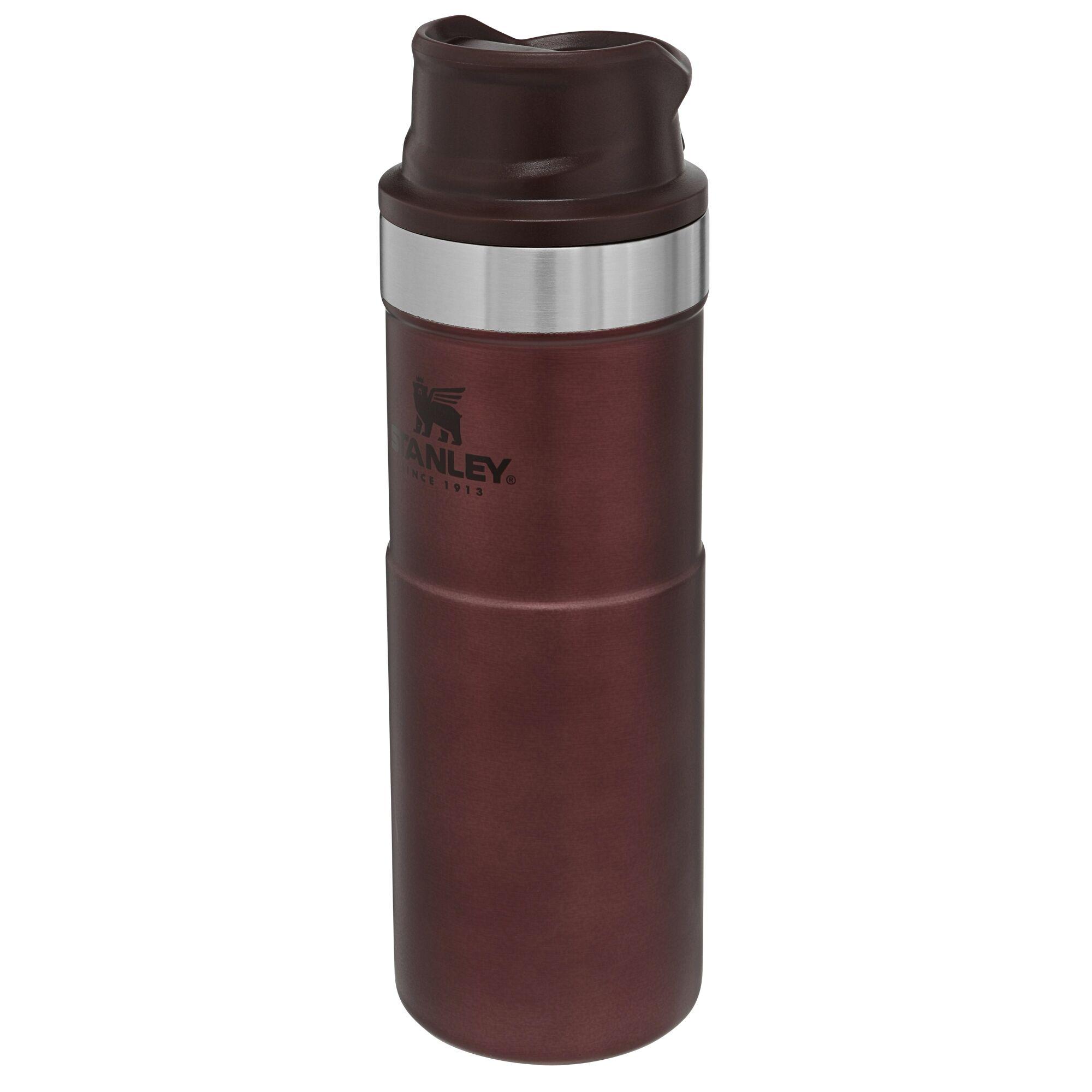 Stanley Termokrūze The Trigger-Action Travel Mug Classic 0,47L sarkana 2806439120 termoss