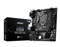 MSI H310M PRO-VDH PLUS S1151 2DDR4 VGA/DVI/HDMI m-ATX pamatplate, mātesplate