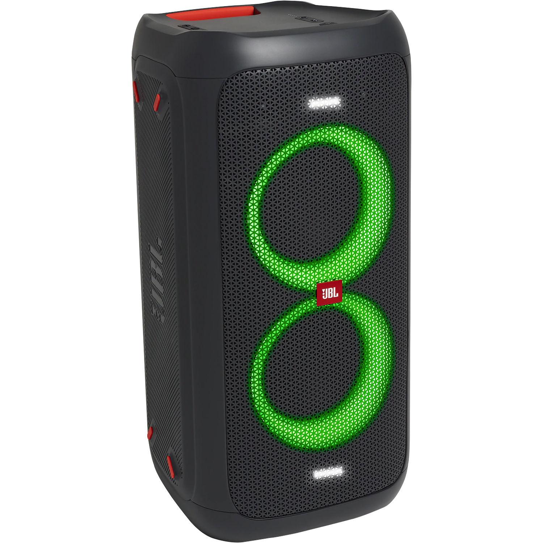 JBL Mid sized portable PartyBox 100 speaker with battery 6925281956676 pārnēsājamais skaļrunis