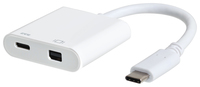 eSTUFF USB-C - mini DisplayPort Power aksesuārs portatīvajiem datoriem