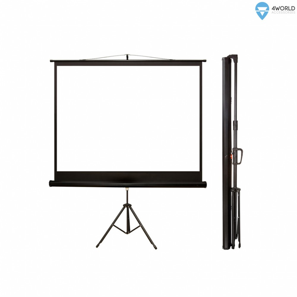 4World 08144 projection screen 182.9 cm (72