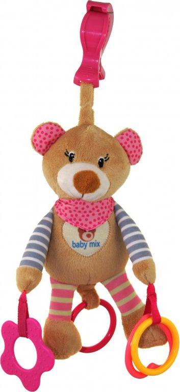 Baby Mix Zabawka z wibracja Mis rozowy AX0970