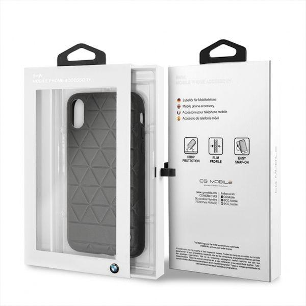 BMW Hardcase do iPhone X czarny/hexagon