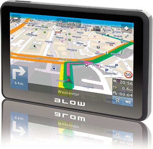 BLOW GPS590 SIROCCO 8GB Eiropa Navigācijas iekārta