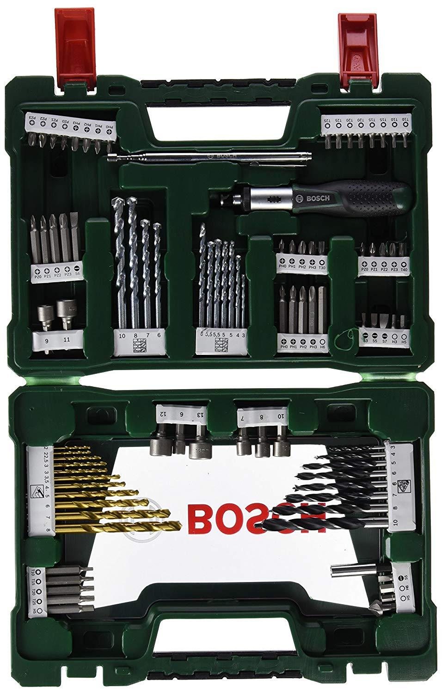 Bosch V-Line TIN drill bit / bit set - 91-piece