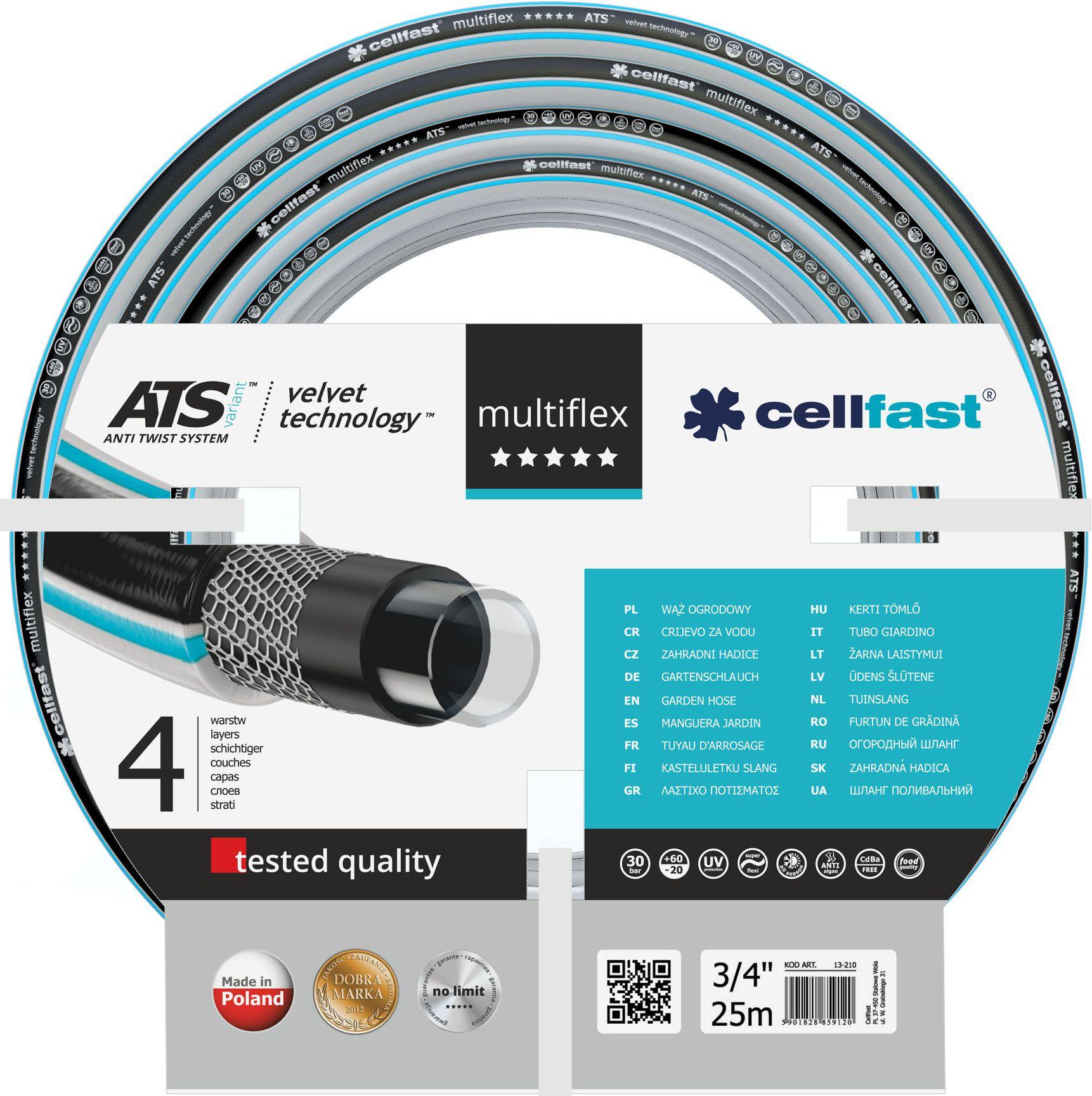 Cellfast Garden hose MultiFlex 3/4