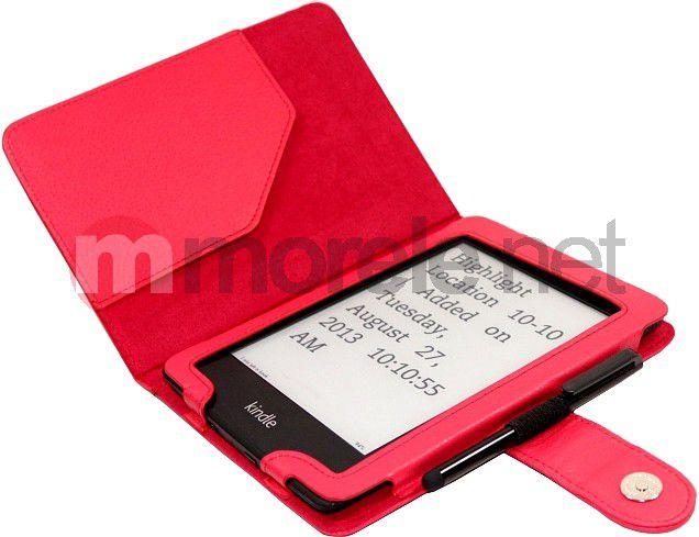 C-TECH PROTECT Case for Kindle PAPERWHITE with WAKE/SLEEP function, red Elektroniskais grāmatu lasītājs