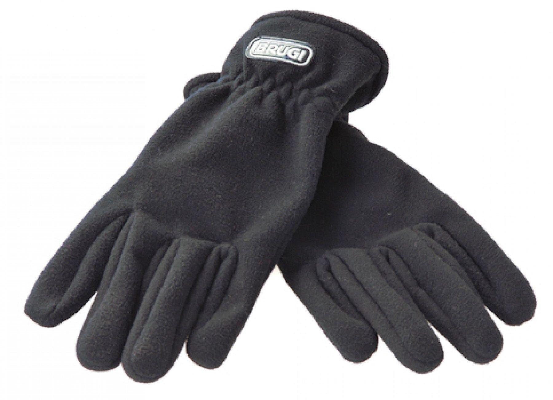 Brugi Ski gloves 4ZDS-500 NERO. L cimdi