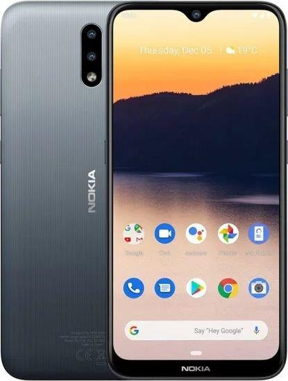 Nokia 2.3 2GB/32GB Charcoal Black Mobilais Telefons