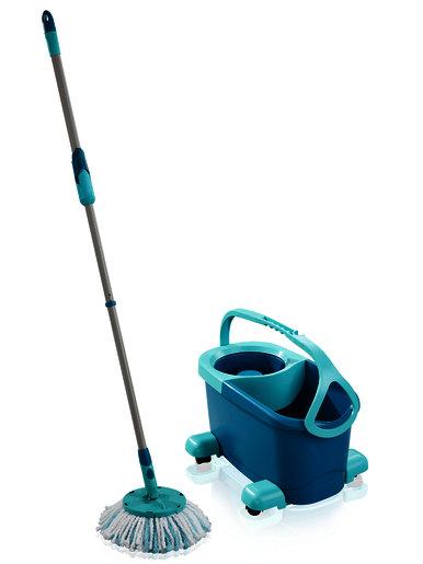 LEIFHEIT Gridas uzkopsanas komplekts Clean Twist Disc Mop Ergo Mobile 4006501521026