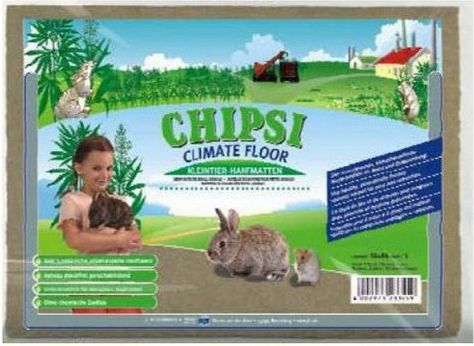 RETTENMAIER CAT'S BEST CHIPSI CLIMATE FLOOR MATA FROM HEMP L grauzējiem