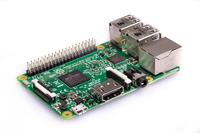 Raspberry Pi Pi 3 Model B 1,2Ghz QC A53 CPU 1GB RAM Support up to 32GB mSD