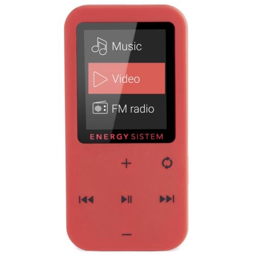 Energy Sistem MP4 Touch Coral (8 GB, touch buttons, FM radio, microSD MP3 atskaņotājs