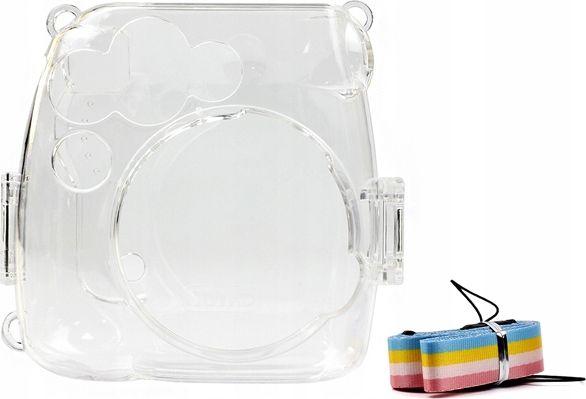 LoveInstant Cover Case Flip Cover Case For Fujifilm Instax Mini 9 8 - Transparent soma foto, video aksesuāriem