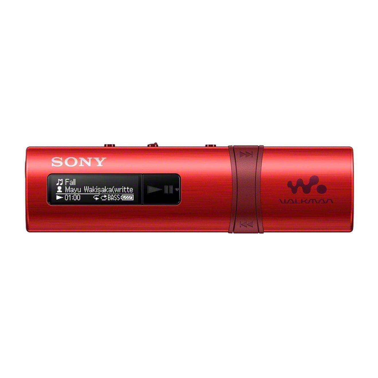SONY NWZ-B183R, 4GB, sarkans MP3 atskaņotājs