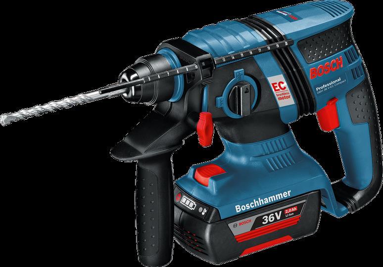 Bosch GBH 36 V-EC Compact Pro Cordless Combi Drill