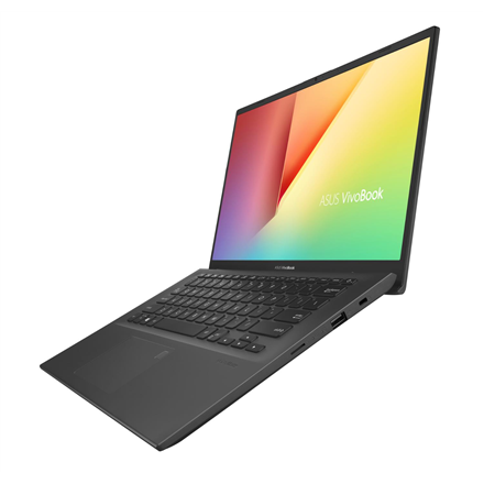 Asus VivoBook X412DA-EB050T Slate Grey, 14 , FHD, 1920 x 1080 pixels, Matt, AMD Dual Core, R3-3200U, 4 GB, DDR4, SSD 128 GB, AMD Radeon Vega Portatīvais dators