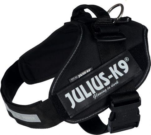 Trixie Julius-K9 Registered  IDC , 3/XL: 82-115 cm/50 mm, black