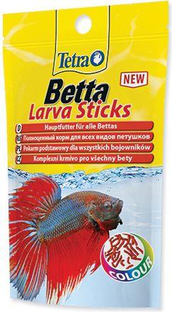 Tetra Betta Larva Sticks 5 g zivju barība