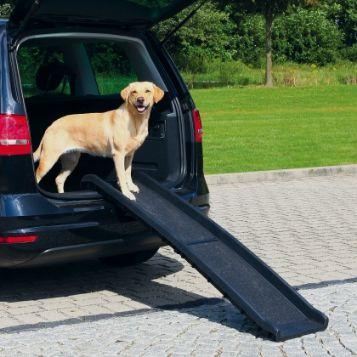 Trixie RAMPA 'Petwalk', folded, 40 × 156 × 8 cm, black, load up to 90 kg aksesuārs suņiem