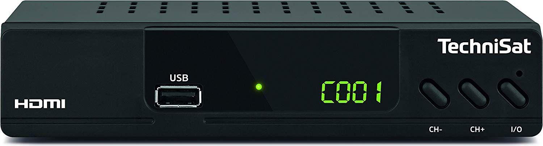 TechniSat HD-C 232, DVB-C Receiver, black uztvērējs