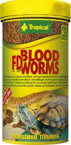 Tropical FD BLOOD WORMS CAN 100ml zivju barība