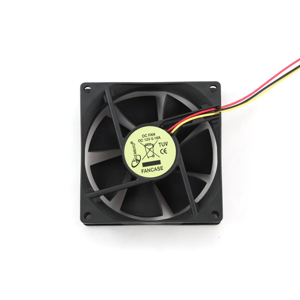 Gembird 120MM CASE FAN FANCASE3 ventilators