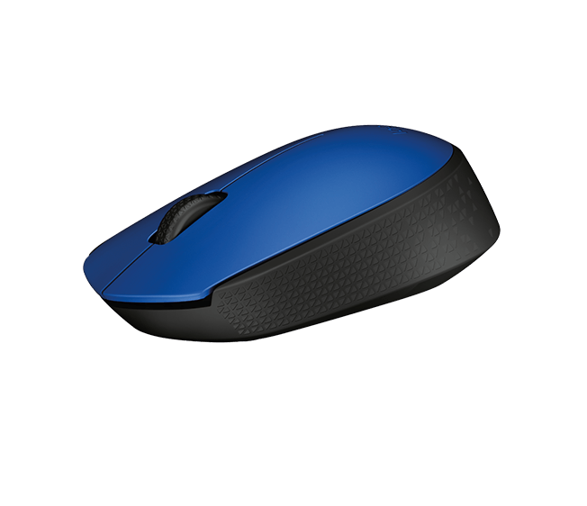 Logitech M171 Blue Mouse wireless 910-00464 Datora pele