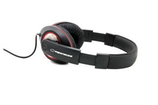 ESPERANZA Audio Stereo Headphones with volume control EH121 Hip-Hop | 5m austiņas