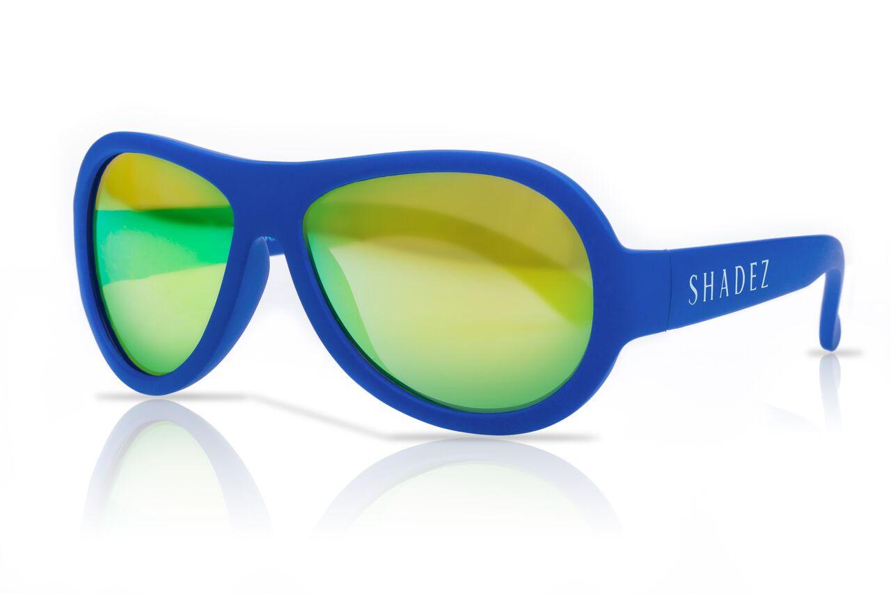 SHADEZ Classic Blue Teeny bērnu saulesbrilles, 7-15 gadi SHZ 06 saulesbrilles