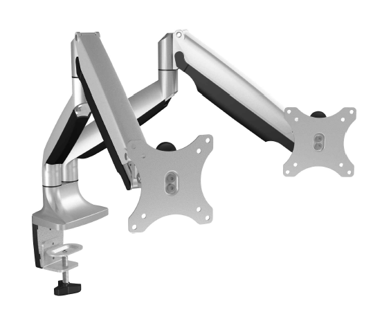 IcyBox IB-MS504-T Monitor stand with table support for two monitors up to 32