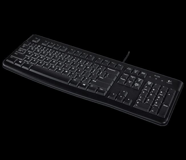 Logitech Desktop K120, USB, RU, OEM klaviatūra