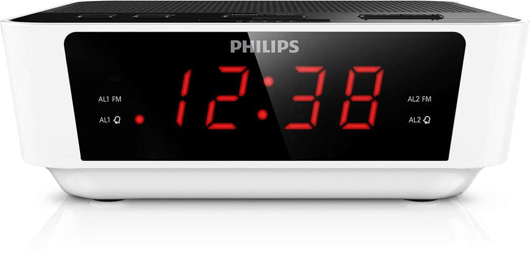 PHILIPS AJ3115/12 radio, radiopulksteņi