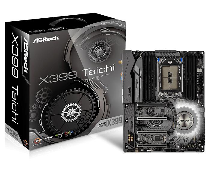ASROCK X399 TAICHI AMD TR4 Socket pamatplate, mātesplate