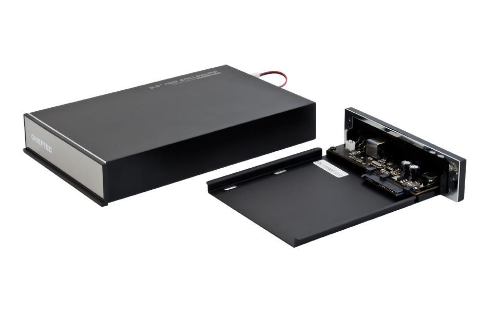 CHIFETEC CEB-7035S ALU.BOX piederumi cietajiem diskiem HDD