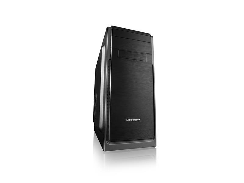 MODECOM Case computer HARRY 3 Midi, USB 3.0 x 1 / USB 2.0 x 2 / HD-AUDIO/ W/O FA Datora korpuss