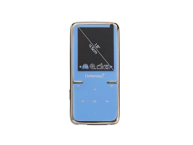 Intenso MP4 player 8GB Video Scooter LCD 1,8'' Blue MP3 atskaņotājs