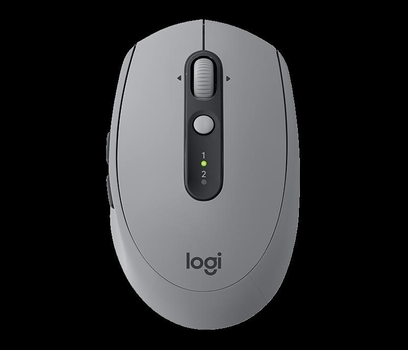 Logitech M590 Multi-Device Silent Mid Grey Datora pele