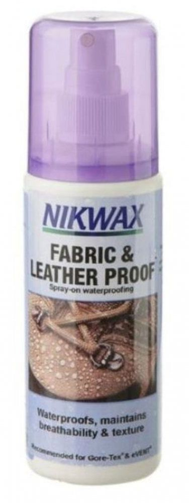 Nikwax Leather and fabric shoe impregnation Spray On-atomizer 125 ml (NI-37) Kopšanas līdzekļi apaviem