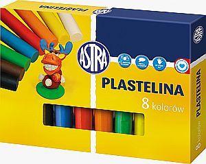 Astra Plastelina 8 kolorow WIKR-014926 materiāli konstruktoriem