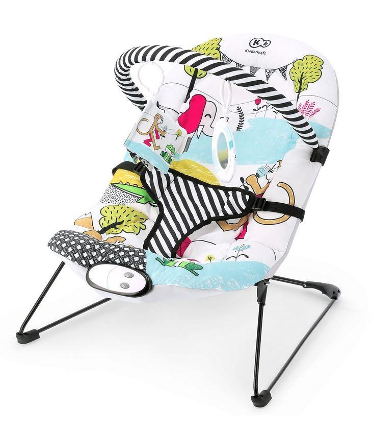 Kinderkraft Bouncer SMARTFUN šūpuļkrēsls