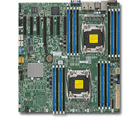 Supermicro DP, Xeon E5-2600 v3 proc. C612 chipset, E-ATX(12 x 13)