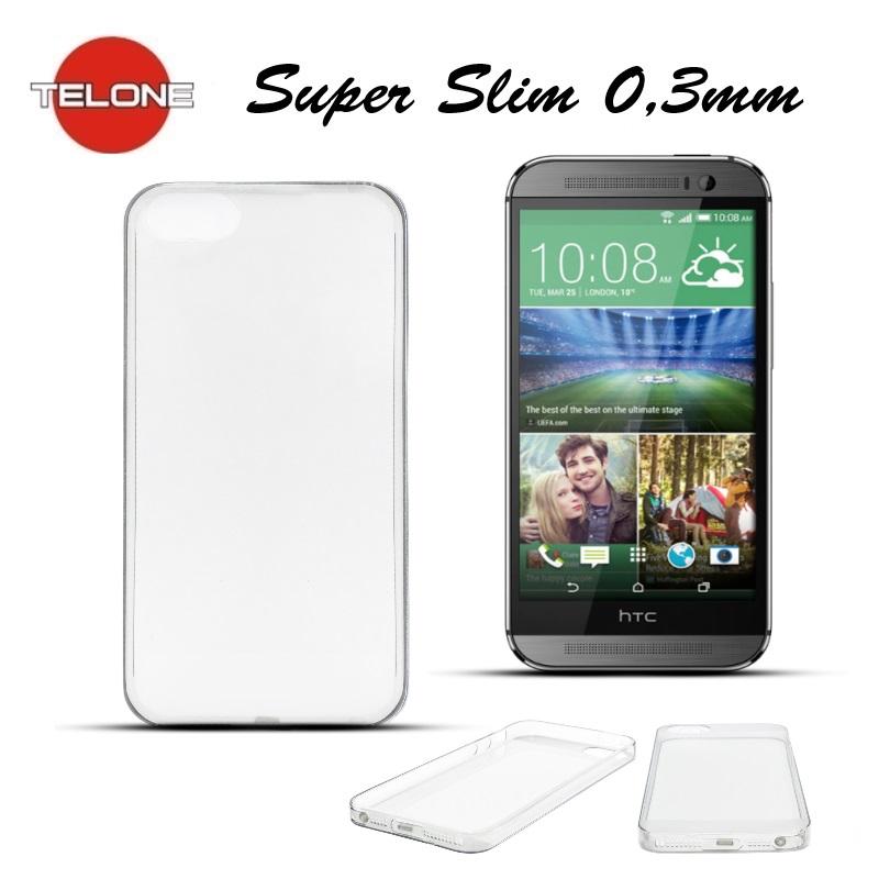 Telone Ultra Slim 0.3mm Back Case HTC One M8 aksesuārs mobilajiem telefoniem