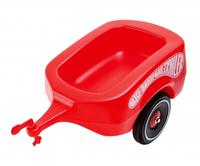 Big Bobby-Car Przyczepa czerwona 800001300 Skrejriteņi