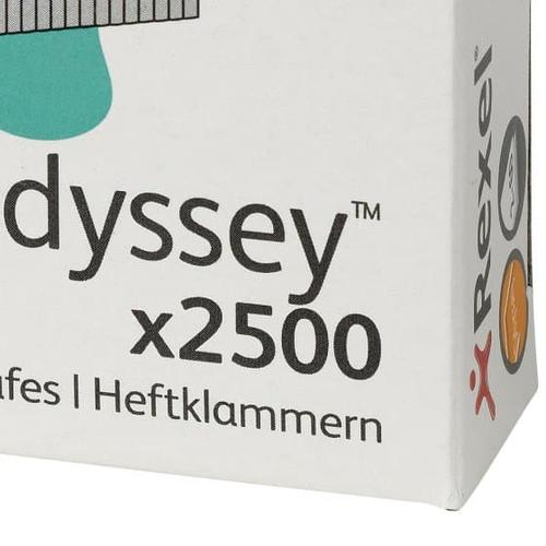 REXEL Staples Odyssey 9 mm (2500) biroja tehnikas aksesuāri